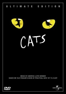 Cats - Ultimate Edition  with  Elaine Paige New (DVD  2002)