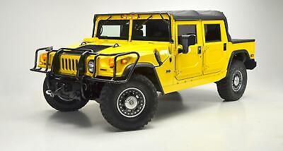2006 HUMMER H1 ALPHA OPEN TOP -- 2006 HUMMER H1 ALPHA OPEN TOP Competition Yellow  20,117 Miles Museum Kept!