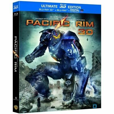Coffret Ultimate - Pacific Rim > Blu Ray 3D, Blu Ray + Dvd / Del Toro, Neuf