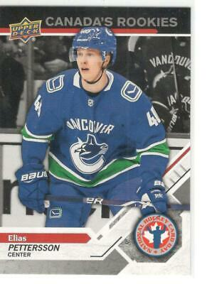 2019 Upper Deck  National Hockey Card Day  Canada's Rookies Elias Pettersson