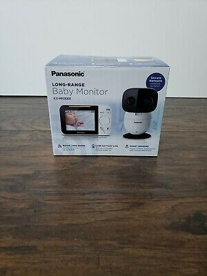 PANASONIC Video Baby Monitor with Extra Long Audio/Video Range, 2 Way Talk