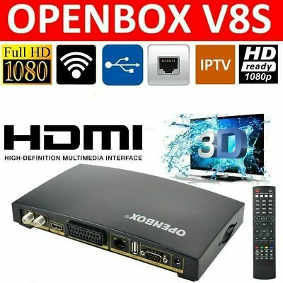 Openbox V8S Satellite Digital TV Receiver Full HD PVR DVB S2 Web TV Box 100M FTA