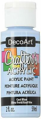 DECO ART DCA76 CRAFTERS ACRYLIC COOL BLUE 2OZ (6pk)