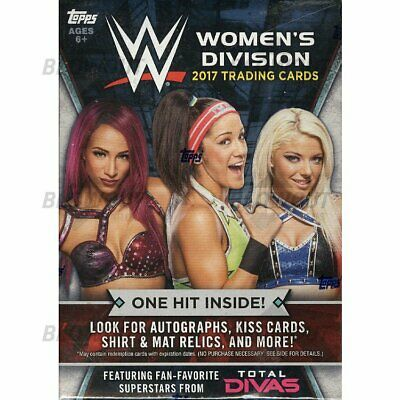 WWE Topps Women's Division 2017 Singles (20% off 3+ Cards!)