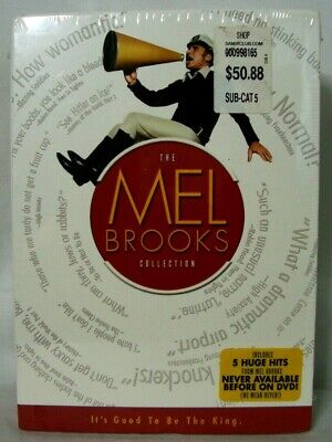 THE MEL BROOKS COLLECTION Boxset (DVD, 2006, 8-Disc Set) Brand New Sealed