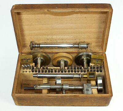 WOLF JAHN Co. CLOCKMAKERS POLISHING SET - NICE TOOL!! SP802
