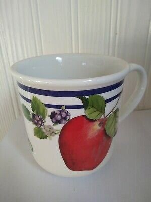 Lenox China Fruit Groves Mug Set of 8