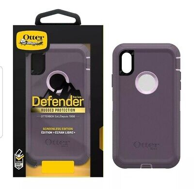 Apple iPhone XR Otterbox Defender Case & Belt Clip Holster  OEM!!