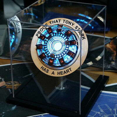 MK2 Iron Man Arc Reactor Proof that Tony Stark has a heart LED Lamp Light Arc