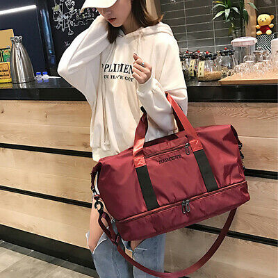1 Pc Travel Bag Fashion Separate Occident Handbag Luggage Bag for Camping Travel