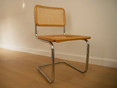 Pair of Two Beautiful Marcel Breuer Cesca Chairs Mid Century Modern MCM