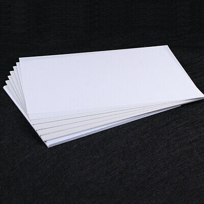 ABS Sheet White Smooth Plastic Plate Thickness 0.5/0.8/1/2/3/4/5mm  Model Craft