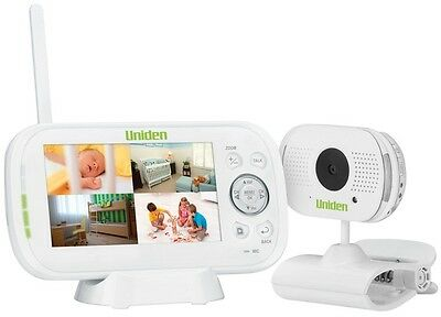 """Uniden Bw3101R 4.3"""" Digital Baby Monitor With Remote Viewing Via Smartphone App"""