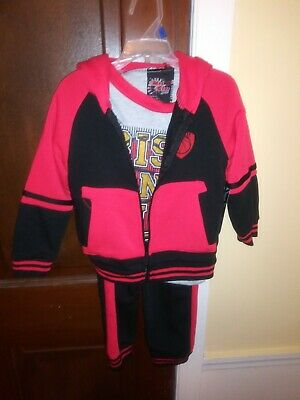 Kids jogging suits 3pc size 3T made by mad game respect