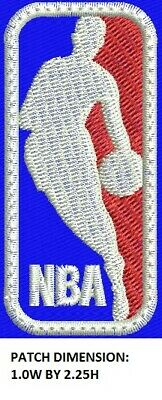 **LOVE IT OR ITS FREE** NBA Custom Made Logo basketball Embroidered patch, DYI