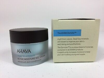 AHAVA Time To Hydrate Active Moisture Gel Cream 1.7 oz New - Ships Free!