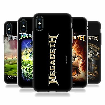 OFFICIAL MEGADETH KEY ART SOFT GEL CASE FOR APPLE iPHONE PHONES