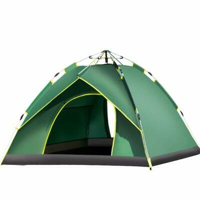 Big 2-3 Person Double Layer Family Pop Up Tent 210*140*110CM Waterproof Tent UK