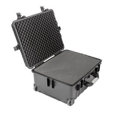 Waterproof Tough Rolling Case Foam Interior Strong Durable Protection Portable