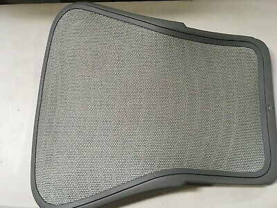 Herman Miller Aeron Chair Backrest 4F01 Titanium Medium Size B Waves Zinc OEM