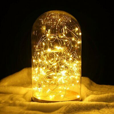 LED String Light with Copper Wire Wedding Party  Christmas Halloween Room Garden