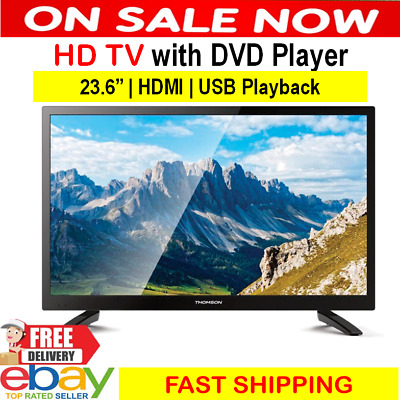 "BRAND NEW JVL 32"" Television HD LED LCD TV Wall mountable HDMI USB Recording"