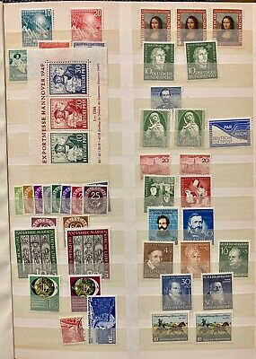 1900-1965 MINT NH Germany Stamps lot 577