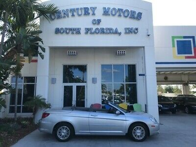 2008 Chrysler Sebring  Bluetooth UConnect CD Changer MP3 Power Top Like New Cloth Seats