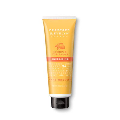 Crabtree & Evelyn Citron & Corinader Energising Hand Recovery 100ml BOXED