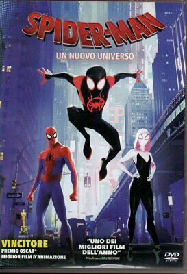 SPIDERMAN UN NUOVO UNIVERSO DVD marvel