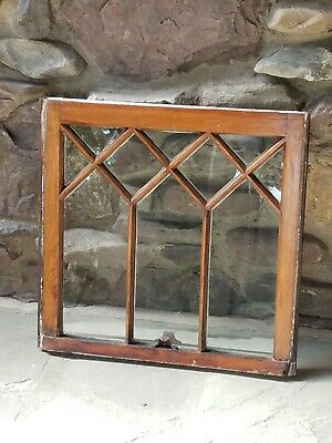 Antique Original Stained Glass Window From A Stately Home In Northern Nj