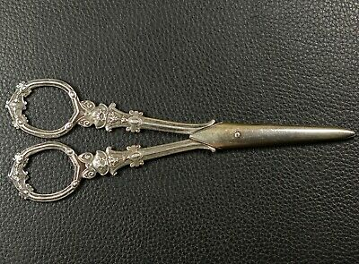 Antik Traubenschere 950 silver GRAPE SCISSORS