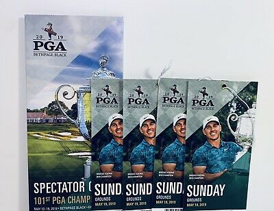(4) 2019 PGA SUNDAY Finals Championship Tickets for 5/19 - Overnite Ship
