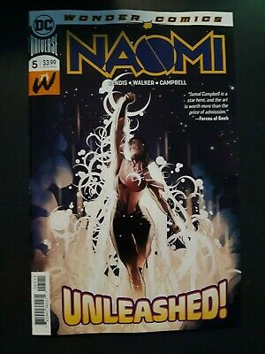 NAOMI #5 First Print NM DC Comic Book Bendis Hot Key Issue NM Centerfold