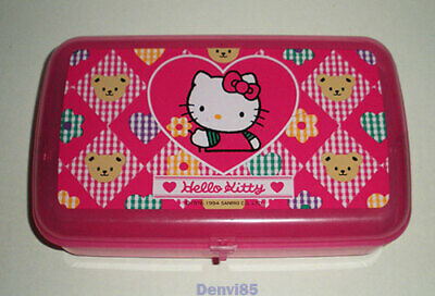 VINTAGE! 1994 Sanrio HELLO KITTY Pencil/Trinket Case!