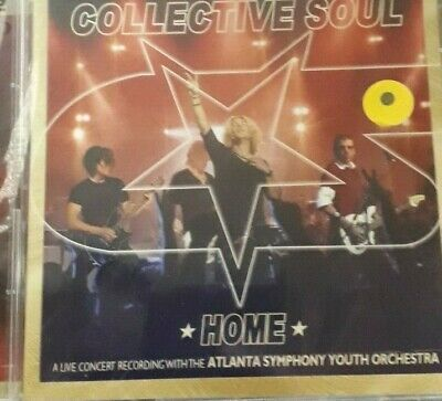 Collective Soul-Home Concert With Atlanta Symphony Youth Orchestra*Cd 2Pz Sealed