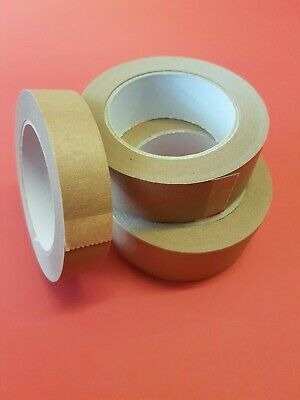 Picture Framing Tape Self Adhesive Brown Craft Professional Frame Framing NEW