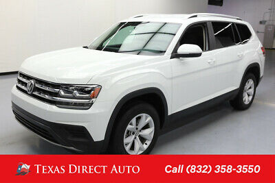 2018 Volkswagen Atlas 2.0T S Texas Direct Auto 2018 2.0T S Used Turbo 2L I4 16V Automatic FWD SUV