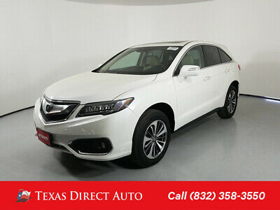 2018 Acura RDX w/Advance Pkg Texas Direct Auto 2018 w/Advance Pkg Used 3.5L V6 24V Automatic FWD SUV Premium