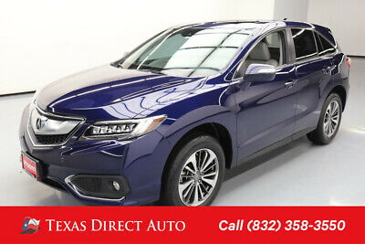 2017 Acura RDX w/Advance Pkg Texas Direct Auto 2017 w/Advance Pkg Used 3.5L V6 24V Automatic FWD SUV Premium