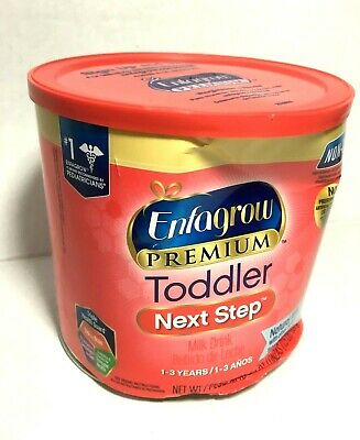 Enfagrow Premium Toddler Next Step Natural Milk Flavor 1-3 Yrs Powder Can 24 oz