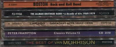 70s-80s Rock Greatest Hits --Various  --Lot Of 5 CDs (5 Diff Artists)