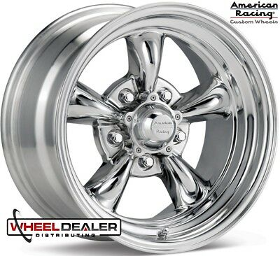 American Racing Vn515 Torque Thrust Ii 15x8 5x475 Polished Alum