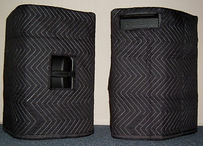 JBL PRX 615M PRX615M Premium Padded Black Speaker COVERS (2)  Qty of 1 = 1 Pair!
