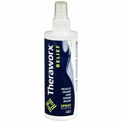 Theraworx Muscle Cramp and Spasm Relief Spray - 7.1 OZ (2 Packs)