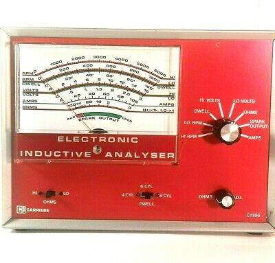 Automotive Electronic Analyser Old School Mechanic Tool Carriere Model C1186