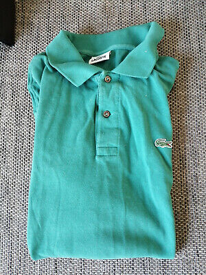 feab128526 Vintage ancien polo Lacoste T-shirt sweat verts taille 7 XXL