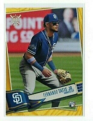 Fernando Tatis Jr. 2019 Topps Big League #6 Short Print GOLD Rookie Variation SP
