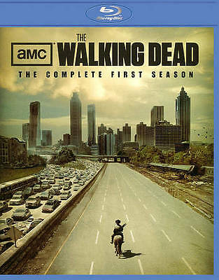 WALKING DEAD The Complete Season 1 First 1st 2-DISC BLU-RAY SET - US VERSION