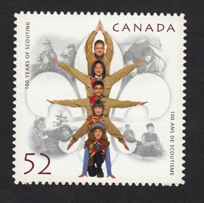 Quarterly Pack DIE CUT Stamp = 100 Years of Scouting = Canada 2007 #2225i MNH-VF